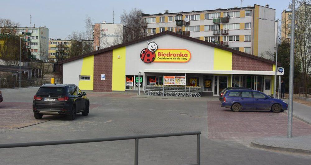 Budowa obiektu handlowego Biedronka