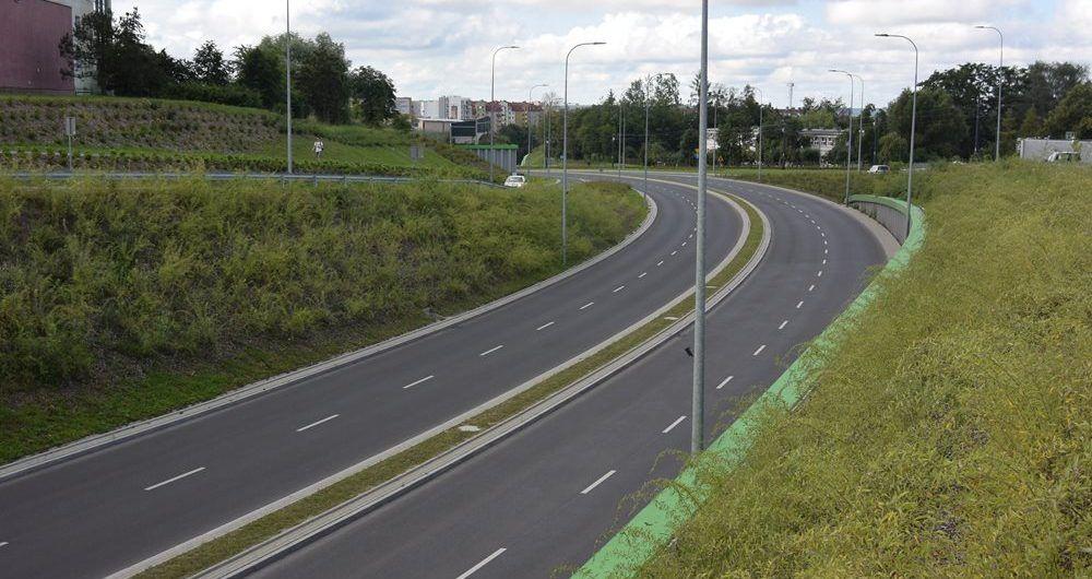 Budowa ulicy Obiegowej w Olsztynie